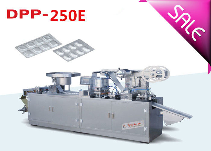Cold Forming Machine Pill Alu Alu Blister Packing Machine with Step Motor Driving