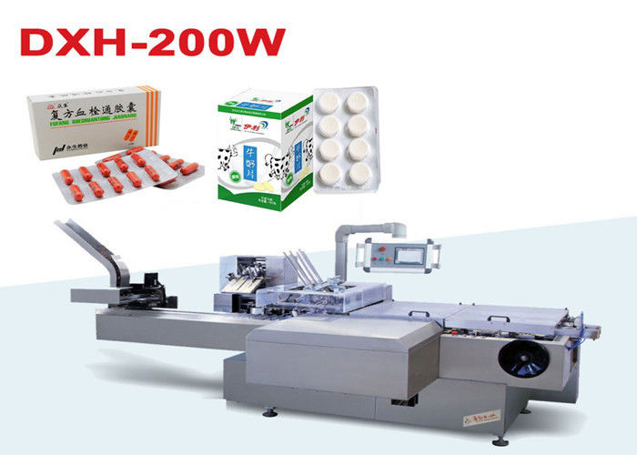 Milk Tablet Blisters Carton Box Packing machine Automatic Cartoning Machine Factory Price
