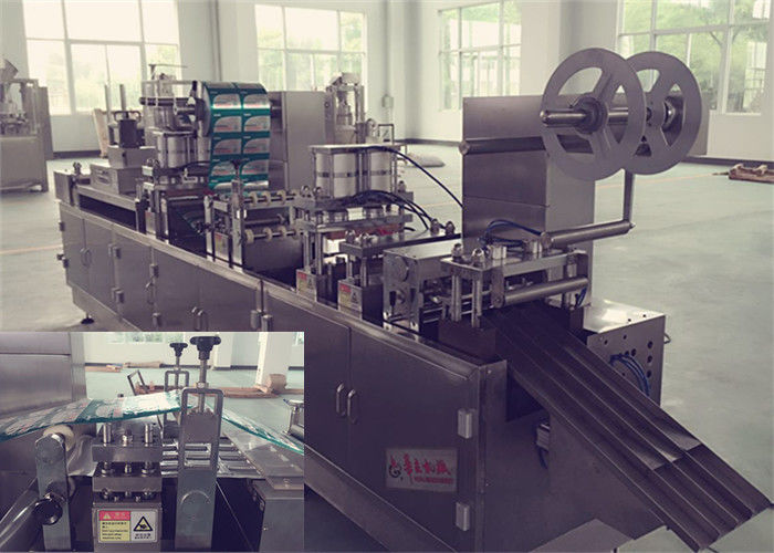 Three Phase Alu Plastic Tropical Blister Packing Machine for Food and Medicine