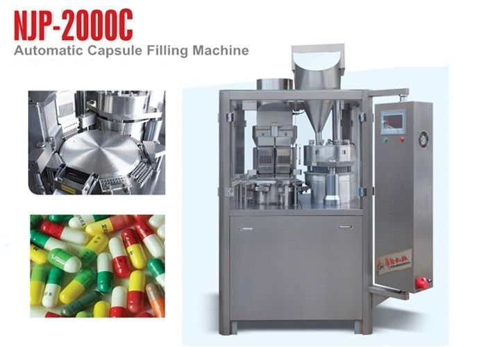 NJP-2000C High Output Automatic Capsule Filling Machine Water Cycling Vacuum Pump